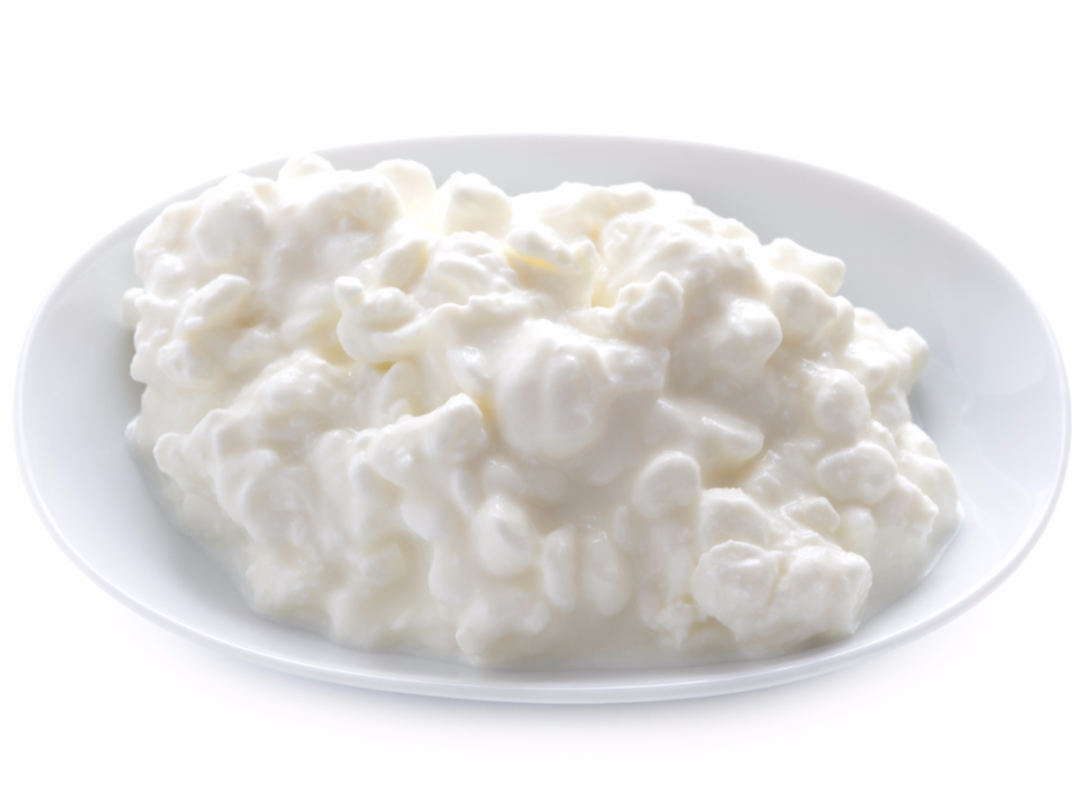 cottage cheese as a late night snack
