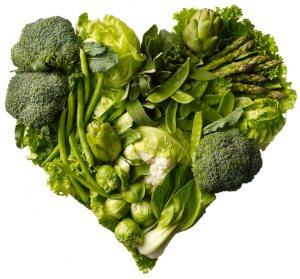 Green veggies for late night snacks